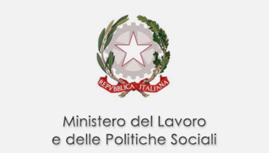 Interpello n° 4/2013 Ministero del Lavoro